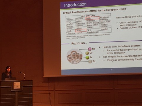 NEOHIRE Project has been presented at the 21st International Solvent Extraction Conference (ISEC) in Miyazaki, Japan on the 5th of November, 2017
