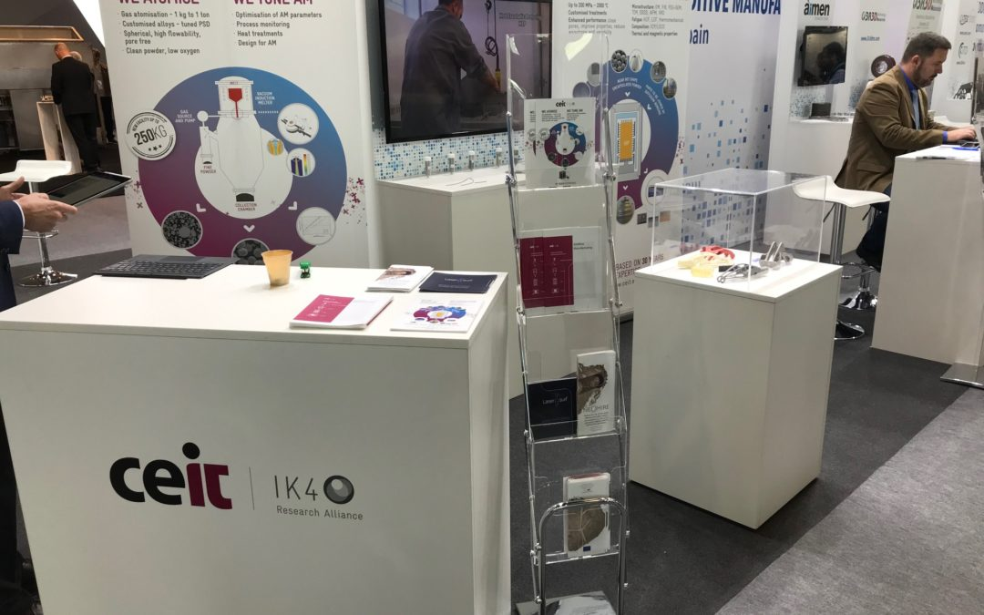 Neohire project was presented within the international exhibition FORMNEXT 2018.Frankfurt (Germany)