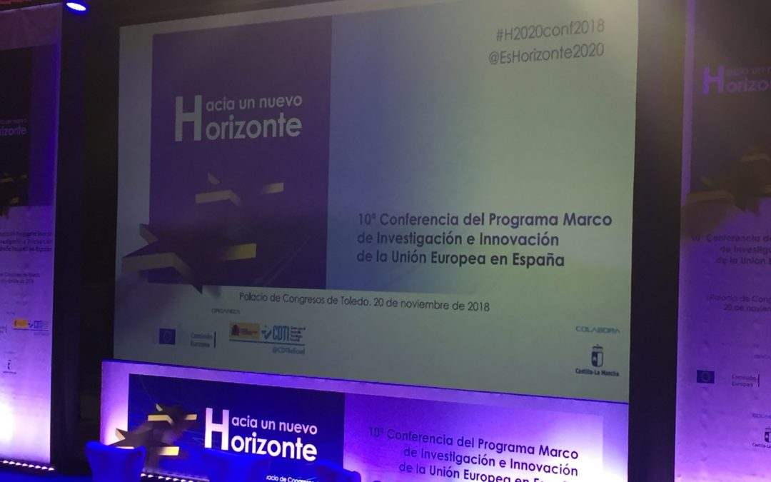 A poster of Neohire project was exhibited at the 10ª Conference of H2020 in Spain. 20th November Toledo.