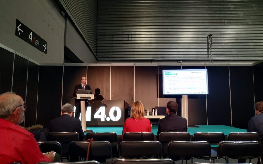 Neohire project was presented by the coordinator J.M.Martín within the Basque Industry 4.0 Event. (Bilbao -Spain) 21st November 2019
